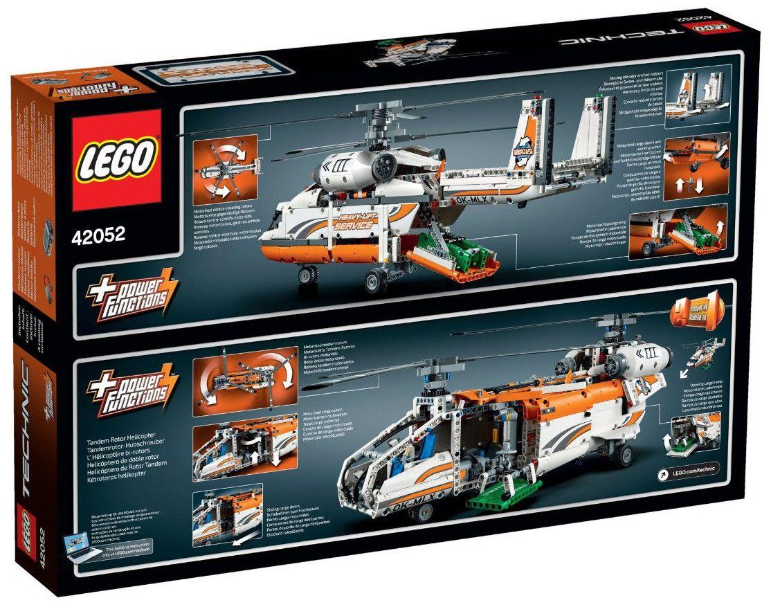 Конструктор Lego Technic - Тежкотоварен хеликоптер (42052) - 3
