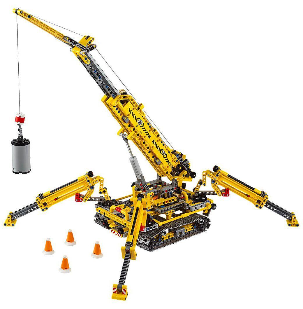 Конструктор Lego Technic - Компактен верижен кран (42097) - 2