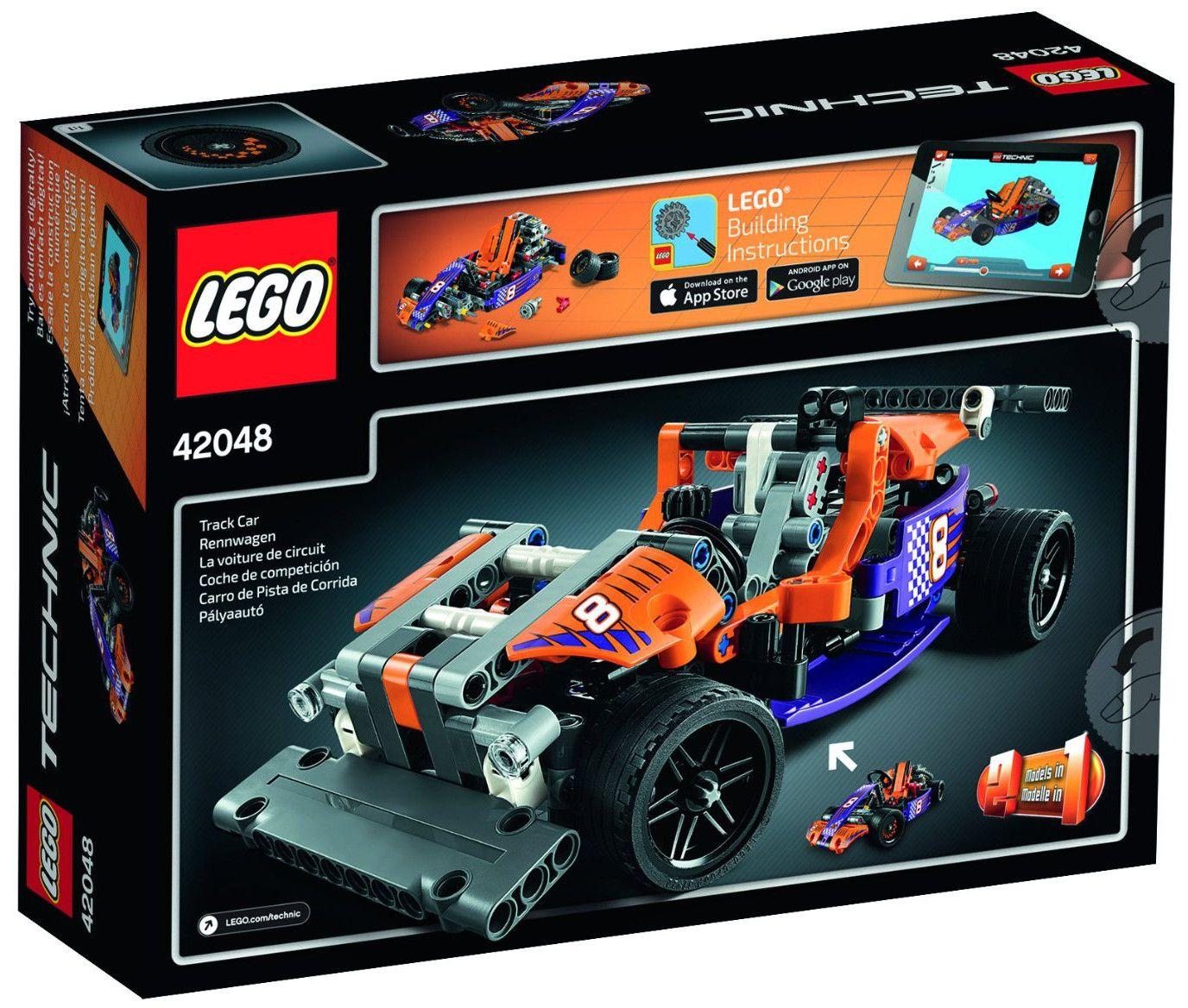 Конструктор Lego Technic - Състезателна картинг кола (42048) - 3