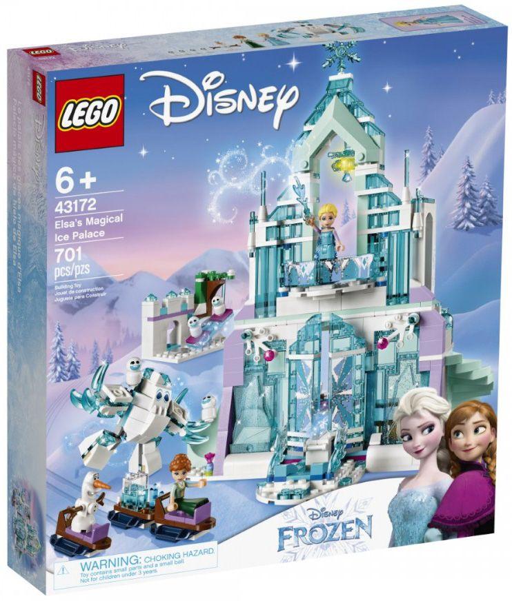 Конструктор Lego Disney Frozen - Магическият леден дворец на Елза (43172) - 1