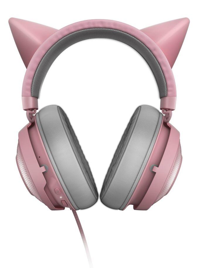 Гейминг слушалки Razer Kraken Kitty Ed. - Quartz - 4