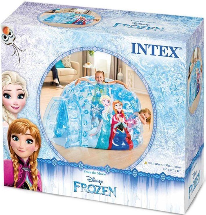 Надуваемо иглу Intex - Замръзналото кралство, с топки - 4