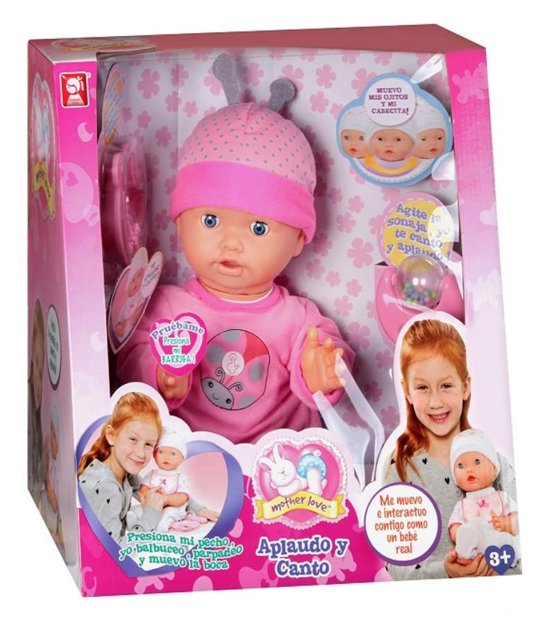 Детска кукла Zapf Creation, Baby Born - Кукла с пляскащи ръчички - 1