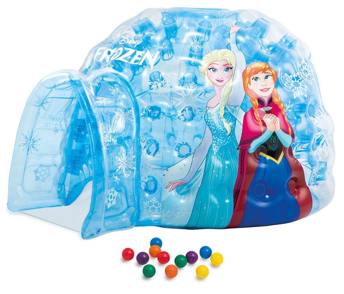 Надуваемо иглу Intex - Замръзналото кралство, с топки - 1