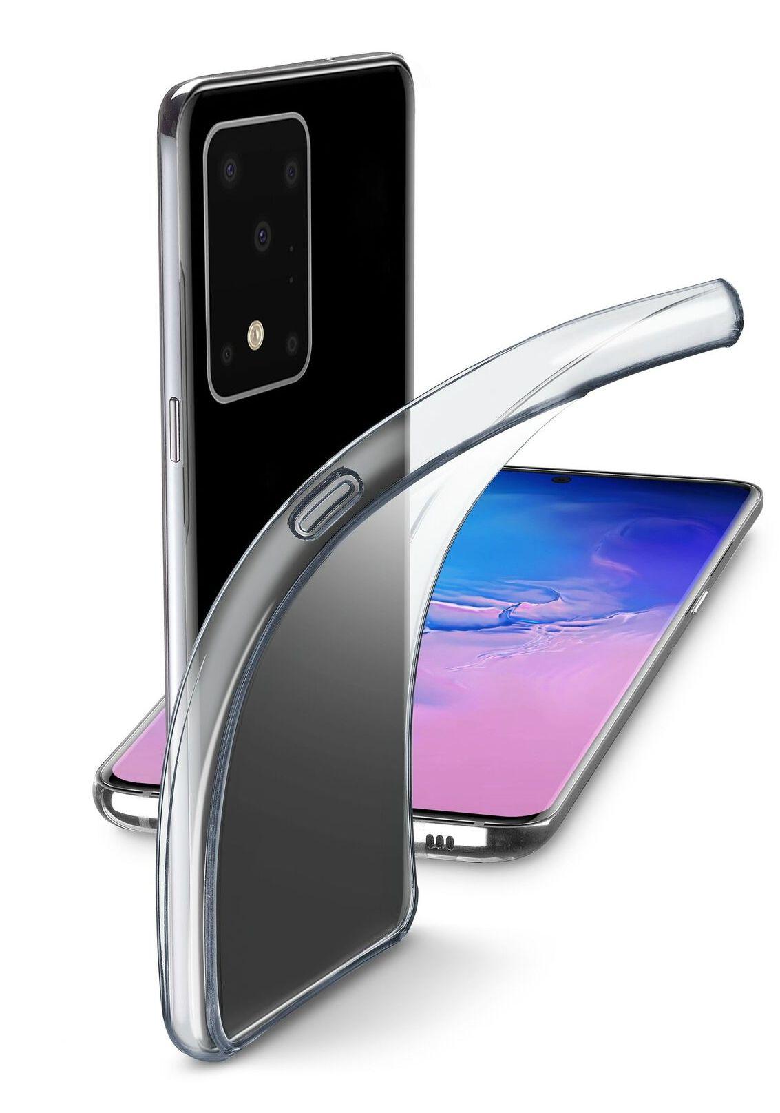 Калъф Cellularline - Fine, за Samsung Galaxy S20 Ultra, прозрачен - 1