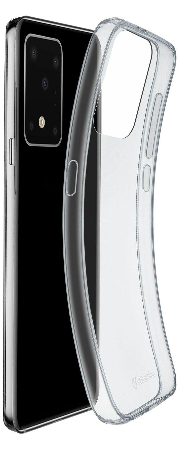 Калъф Cellularline - Fine, за Samsung Galaxy S20 Ultra, прозрачен - 3