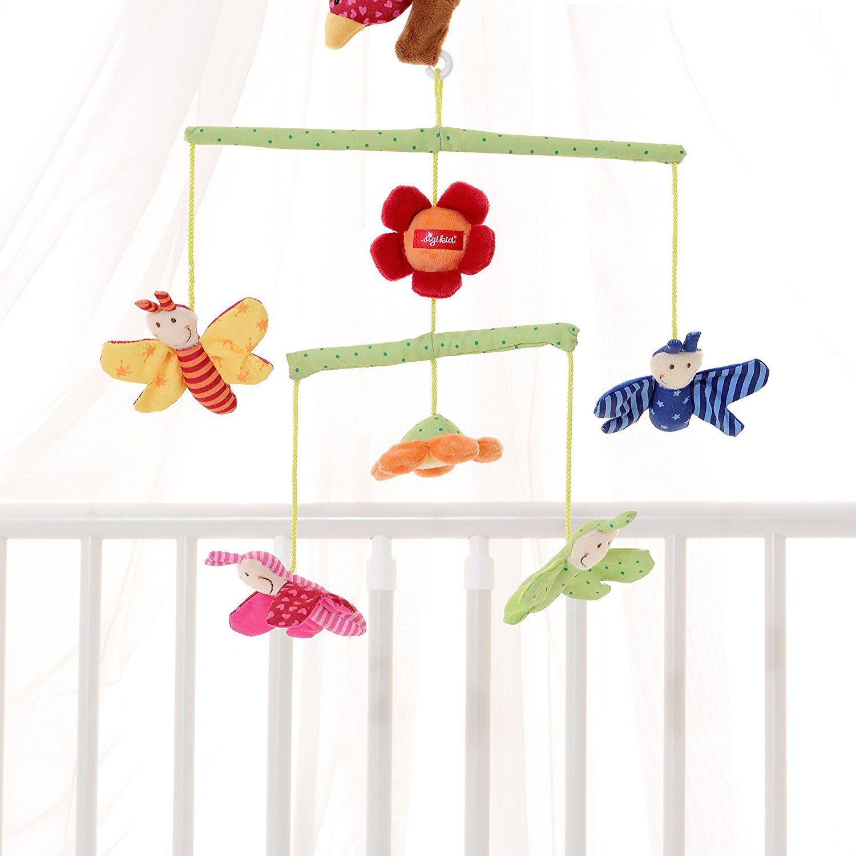 Бебешка въртележка за легло Sigikid Mobile – Пеперудки - 2