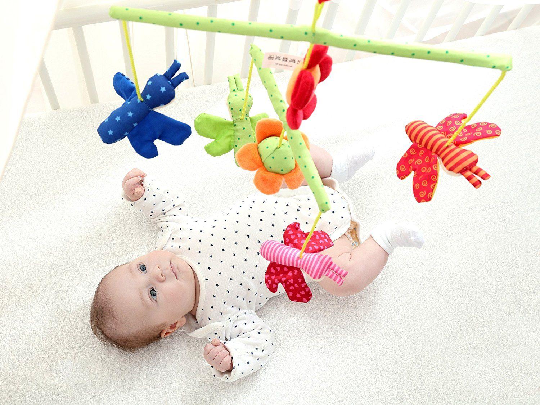 Бебешка въртележка за легло Sigikid Mobile – Пеперудки - 3