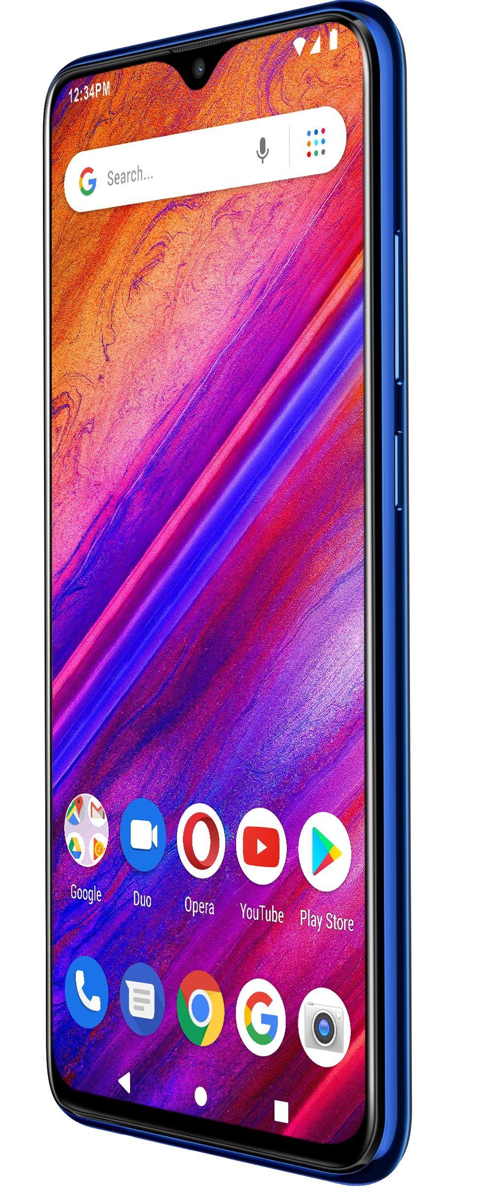 """Смартфон BLU G9 - 6.3"""", 64GB, син - 2"""