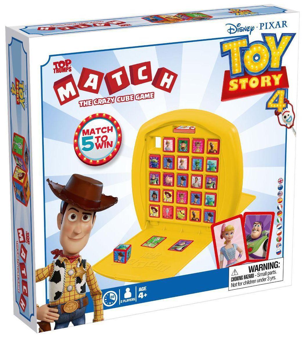 Игра с карти и кубчета Top Trumps Match - Toy Story - 4