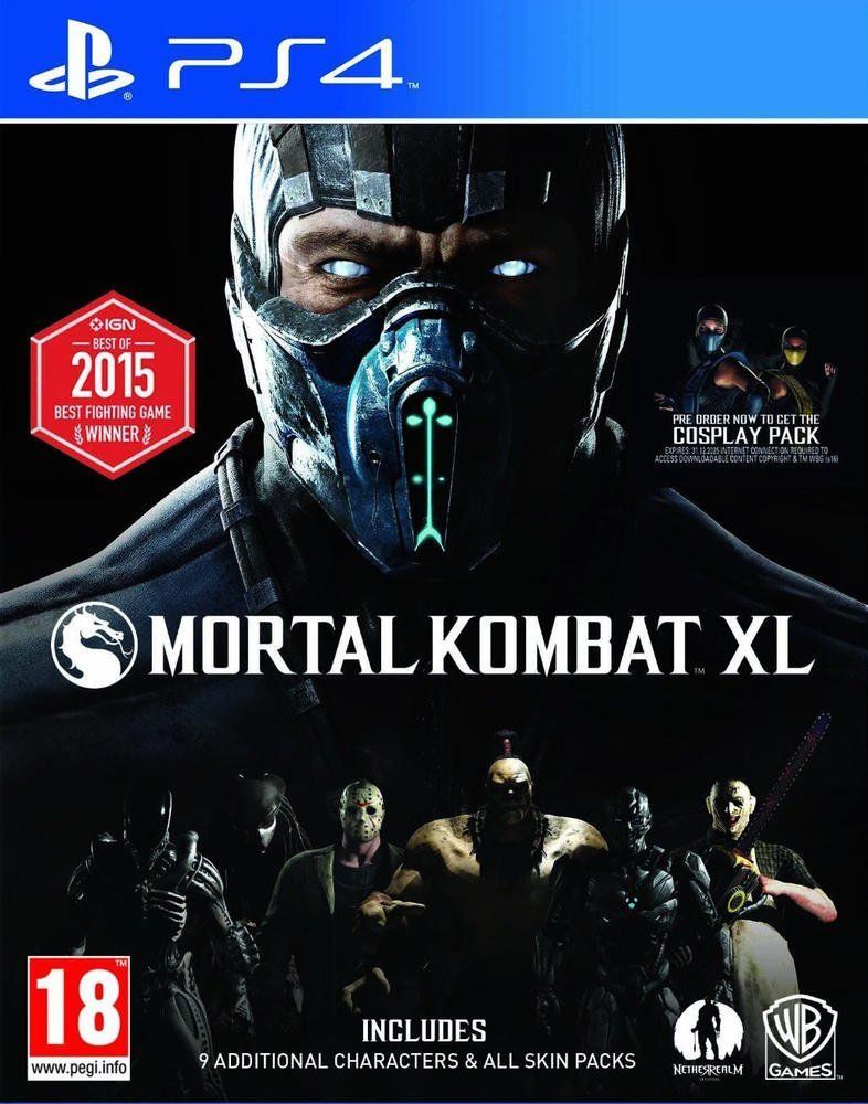 Mortal Kombat XL (PS4) - 1