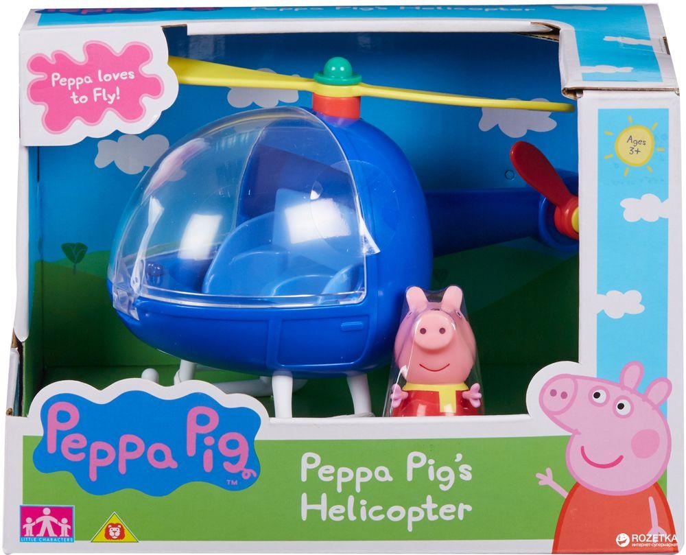 Комплект фигурки Peppa Pig - Превозно средство с фигурка, асортимент - 9