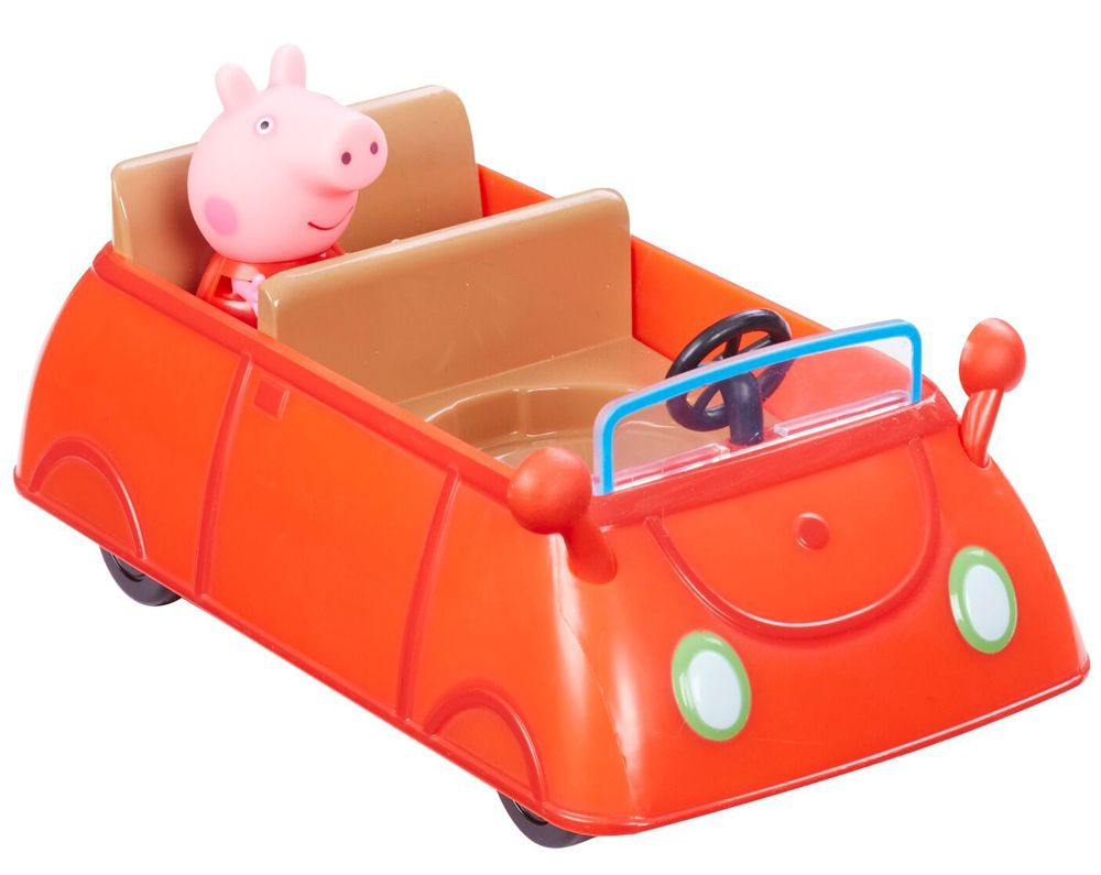 Комплект фигурки Peppa Pig - Превозно средство с фигурка, асортимент - 10