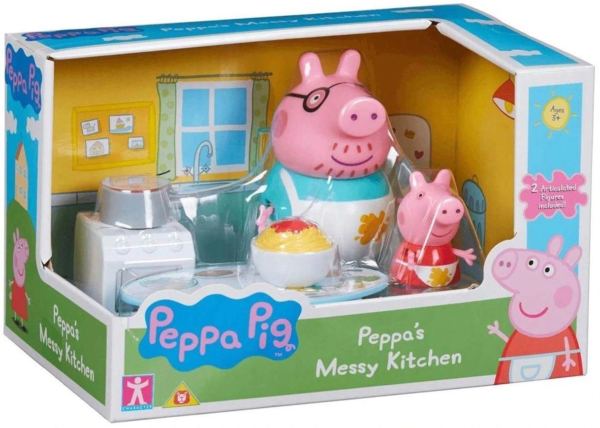 Комплект фигурки Peppa Pig - Kухня, с 2 фигурки - 3