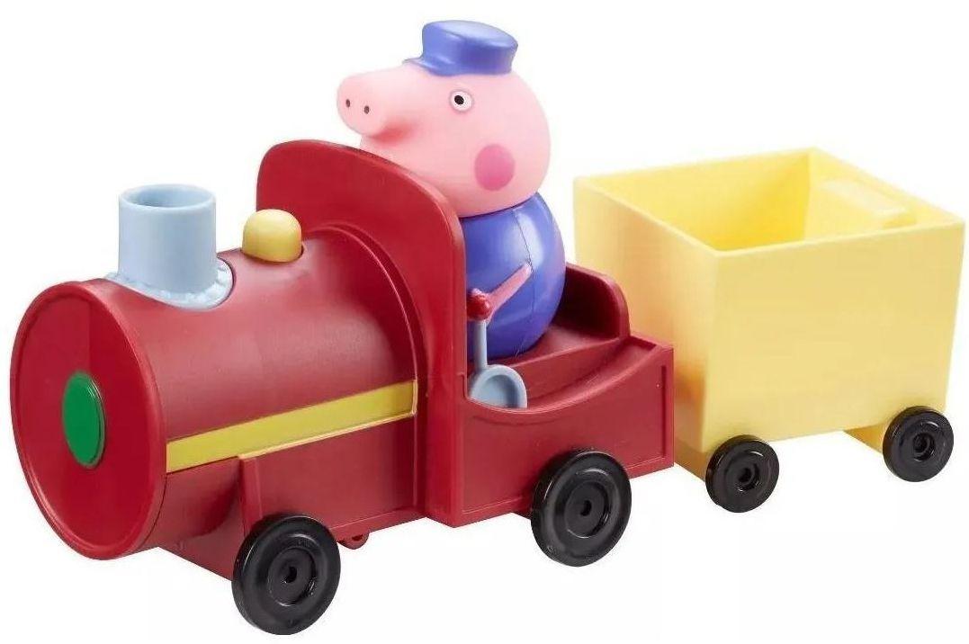 Игрален комплект Peppa Pig - Влакчето на Дядо Прасенце - 2