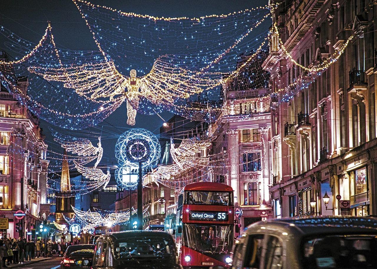 Пъзел Gibsons от 1000 части - Светлините на Лондон - 2