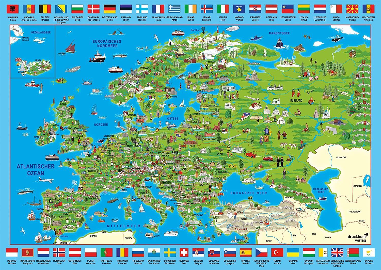 Пъзел Schmidt от 500 части - Преоткривай Европа - 2