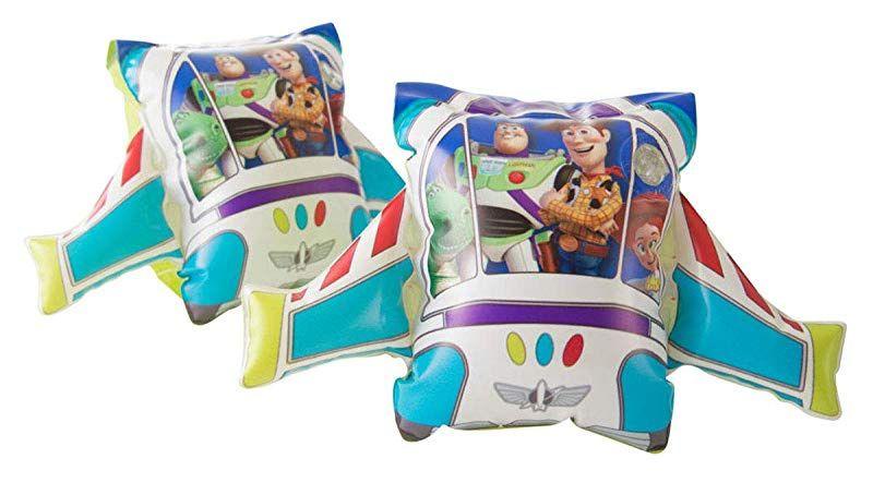 Детски надуваем комплект Disney Toy Story - Дюшек, пояс, раменки и топка - 3