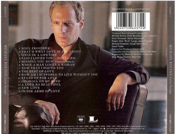Michael Bolton - Love Songs (CD) - 2