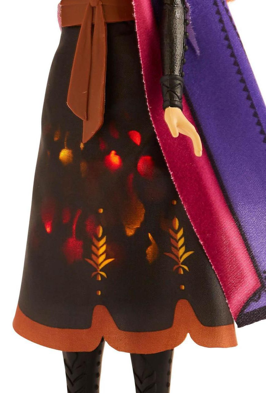 Кукла Hasbro Frozen 2 - Анна със светеща рокля - 3
