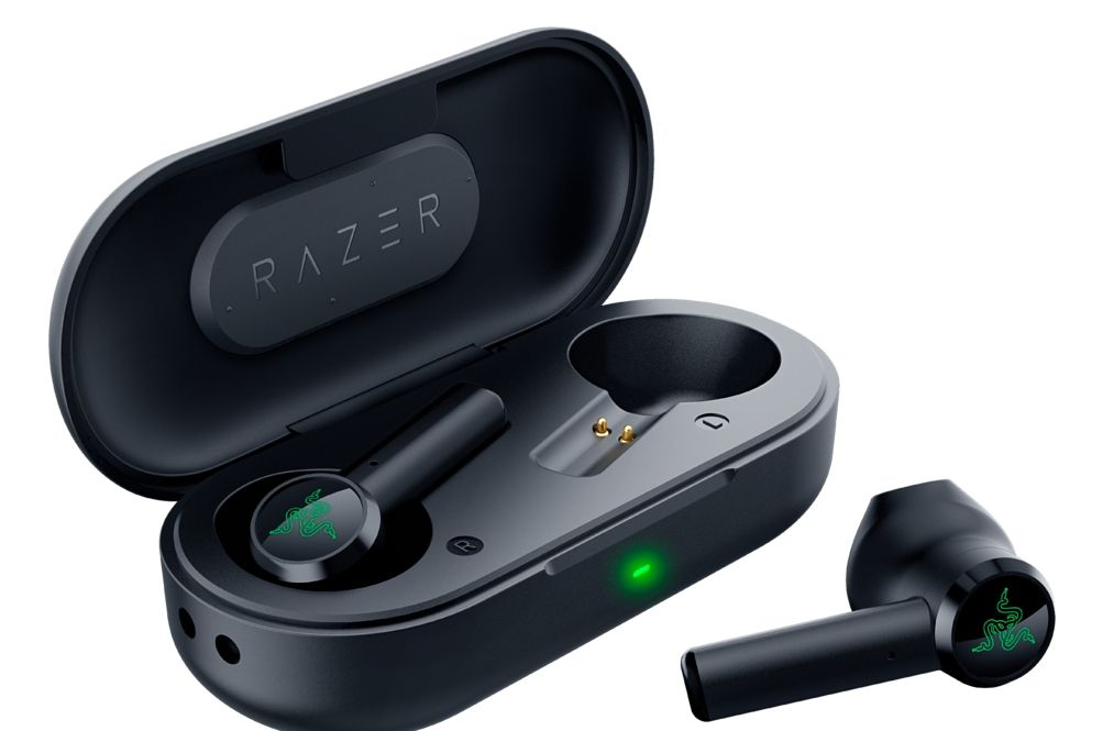 Гейминг слушалки Razer - Hammerhead True Wireless, черни - 2
