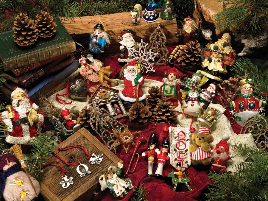 Пъзел Cobble Hill от 275 части - Коледни фигурки - 2