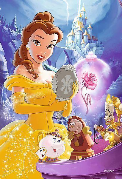 Мини пъзел Trefl от 54 части - Дисни принцеси, асортимент - 2