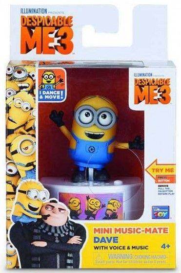 Музикална кутия Minions - Дейв, забавни звуци и гласове - 1