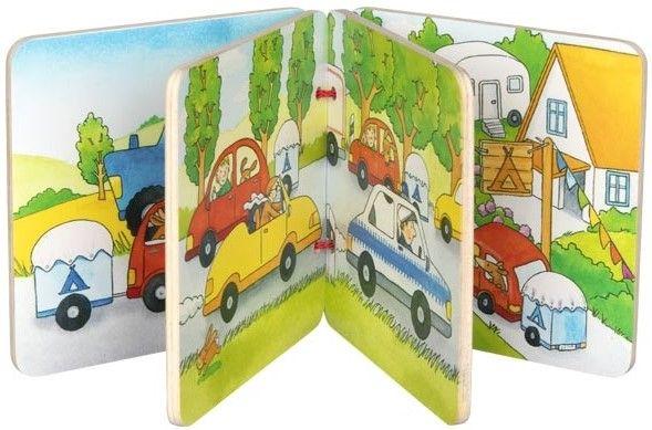 Дървена книжка Goki - На ваканция! - 2