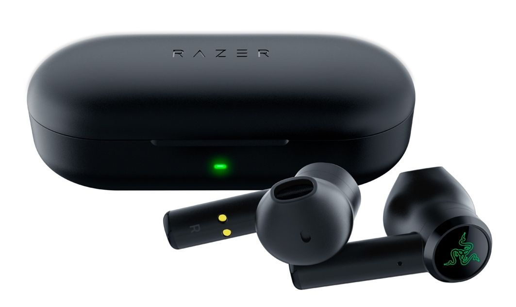 Гейминг слушалки Razer - Hammerhead True Wireless, черни - 3