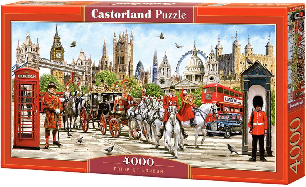 Панорамен пъзел Castorland от 4000 части - Гордостта на Лондон, Ричард Макнийл - 1