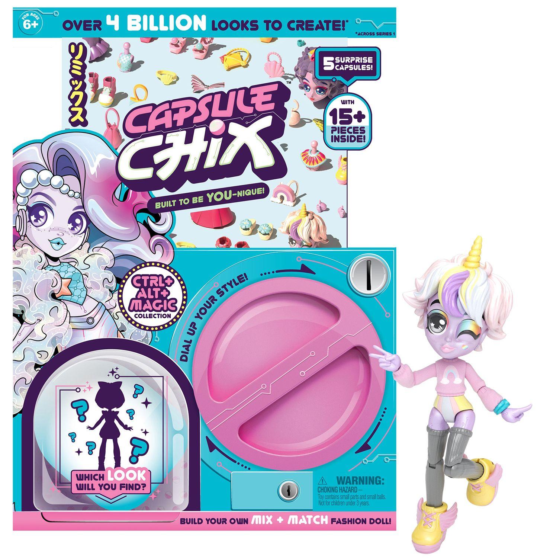 Куклички за сглобяване в капсула Capsule Chix - Ctrl Alt Magic, Серия 1 - 1