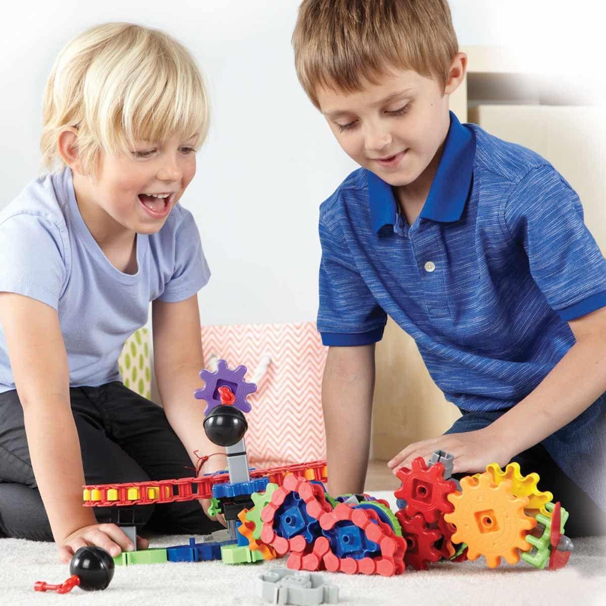 Детски конструктор Learning Resources - Машини в действие - 5