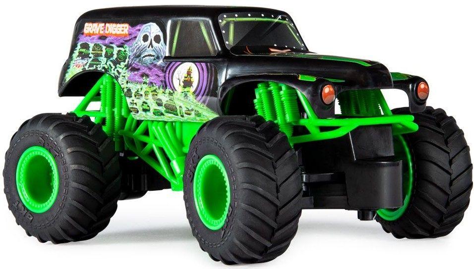 Радиоуправляема количка Spin Master Monster Jam - Джип Grave Digger, 1:24 - 2