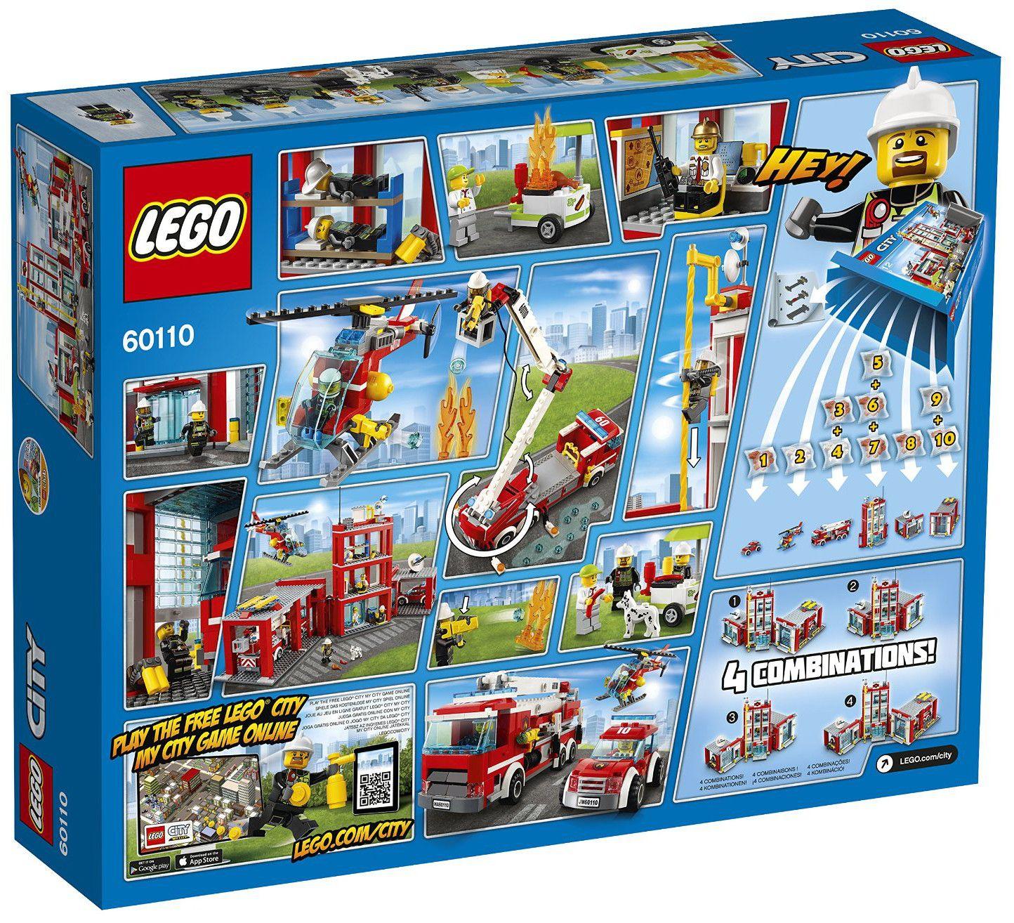 Конструктор Lego City - Пожарна команда (60110) - 3