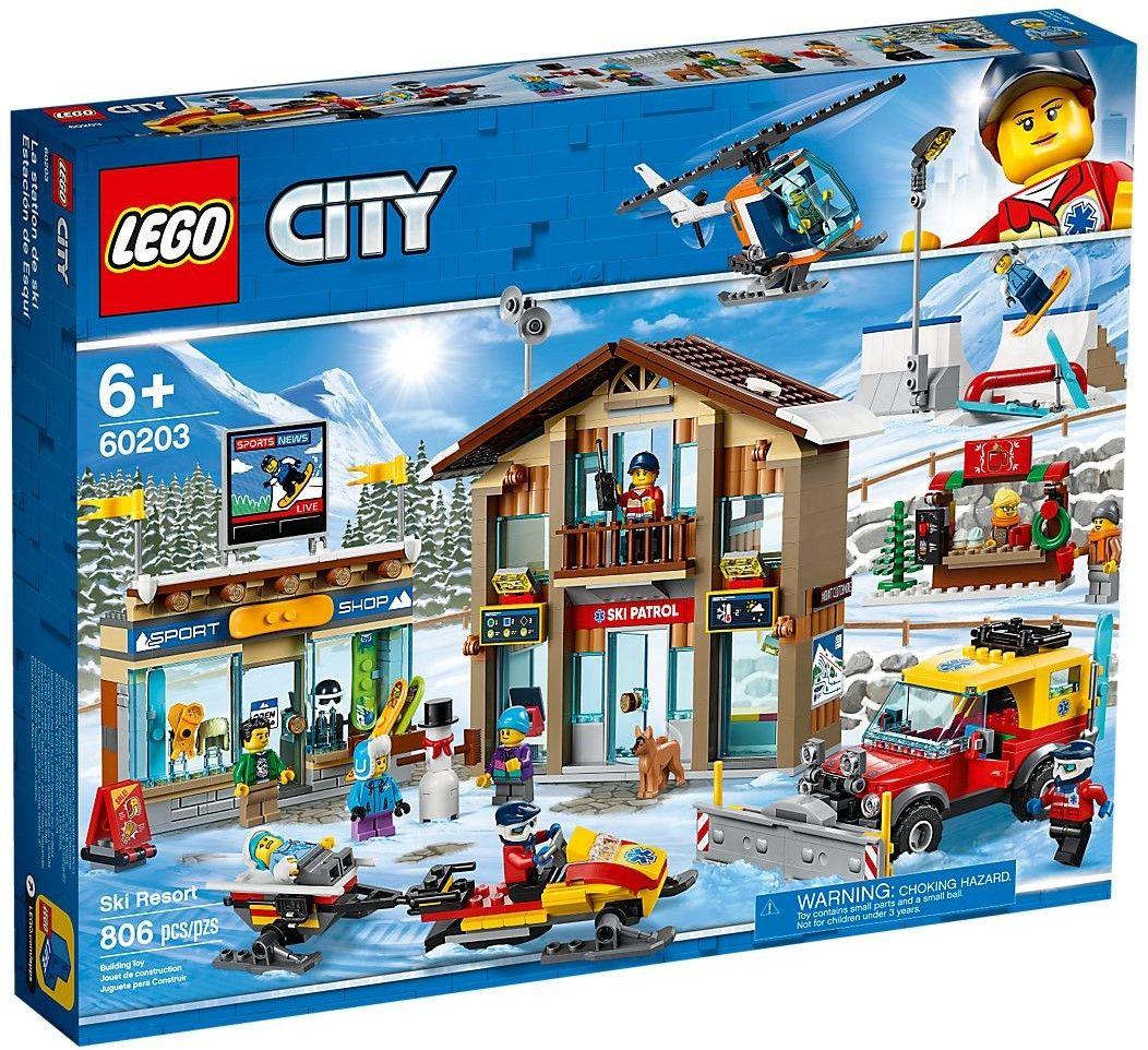 Конструктор Lego City - Ski Resort - 1