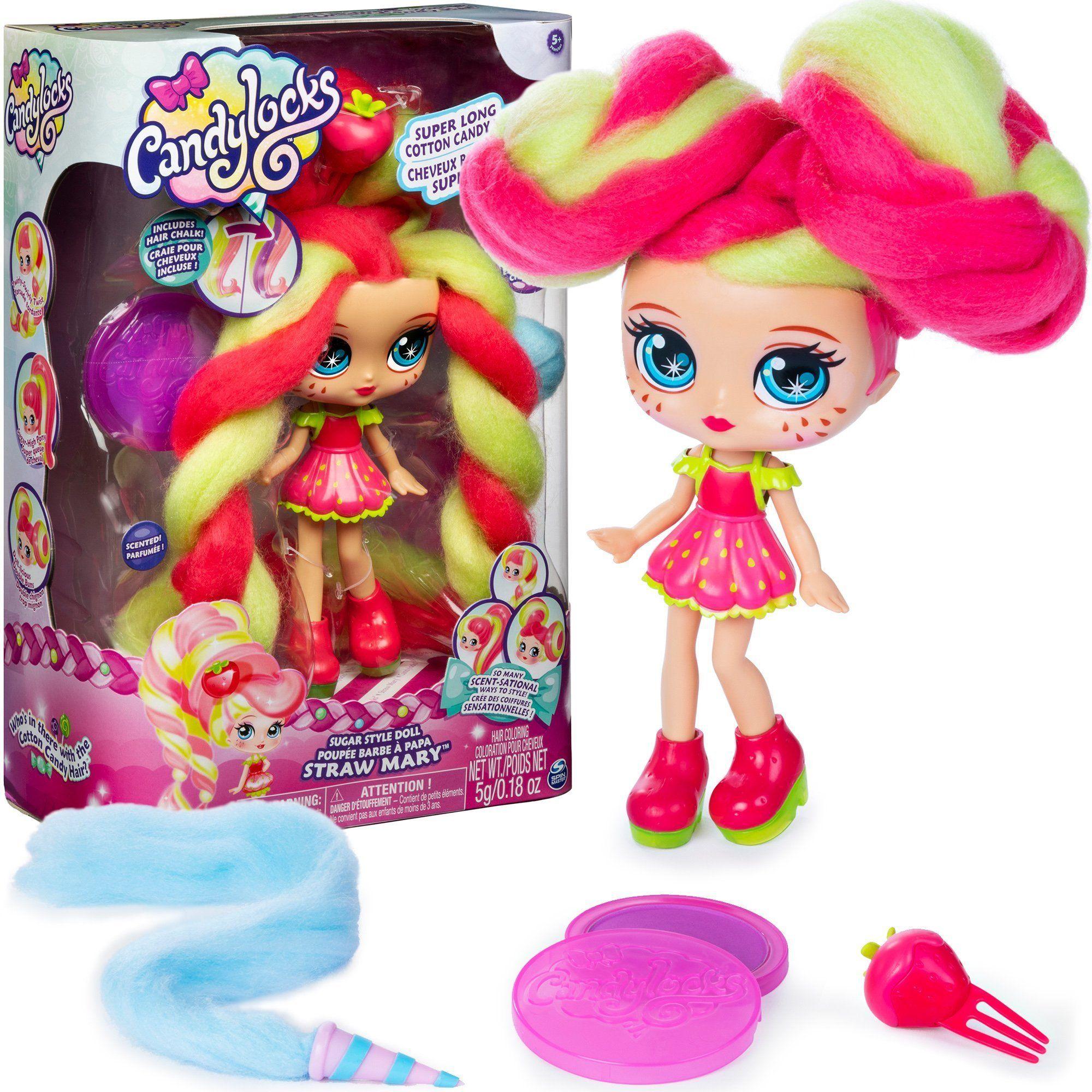 Мини кукла с ароматна коса Candylocks - Straw Mary - 1