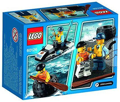Конструктор Lego City - Бягство на автомобилна гума (60126) - 3
