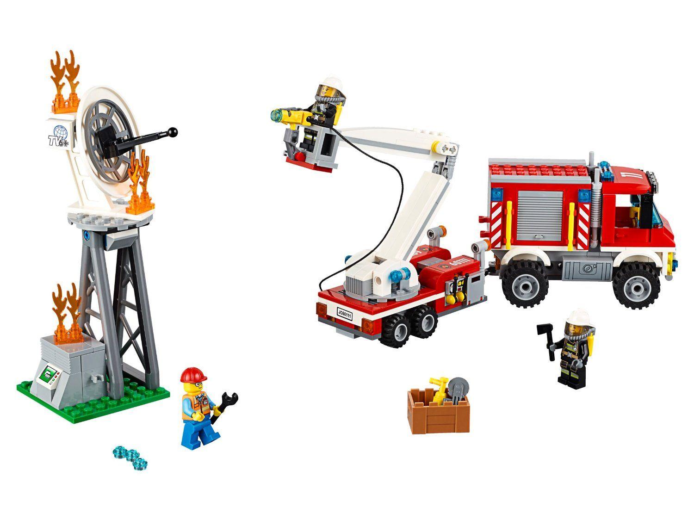 Конструктор Lego City - Пожарникарски камион (60111) - 4