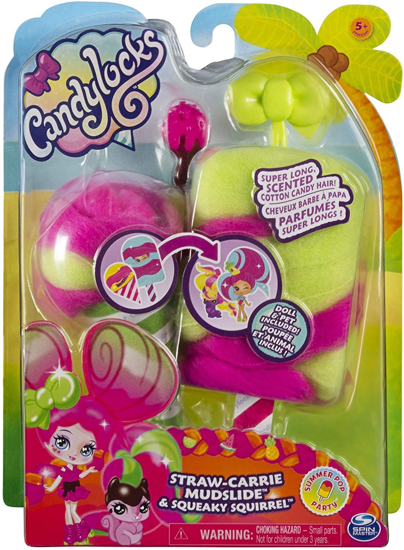 Мини кукла с ароматна коса Candylocks - С домашен любимец, асортимент - 7