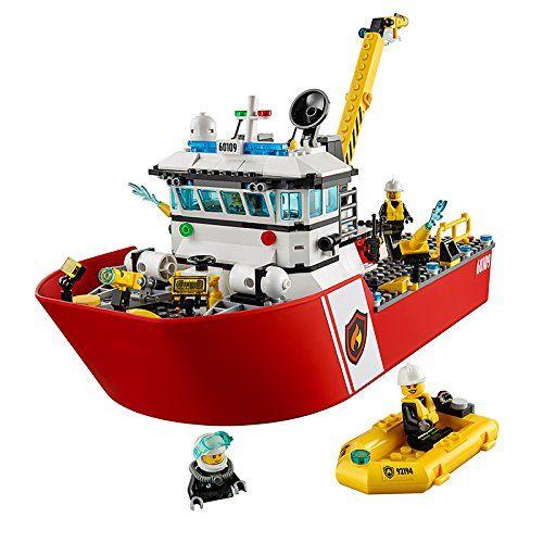Конструктор Lego City - Пожарникарска лодка (60109) - 5