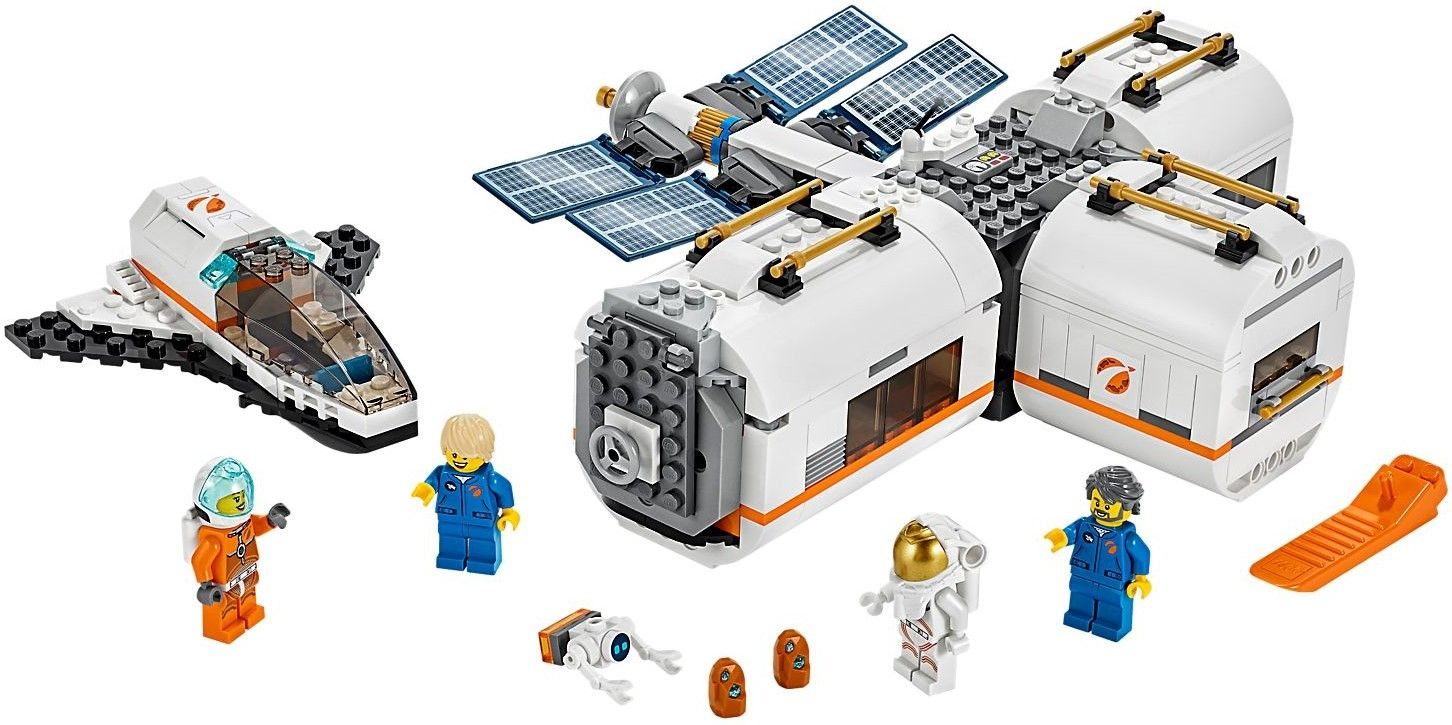 Конструктор Lego City - Lunar Space Station (60227) - 3