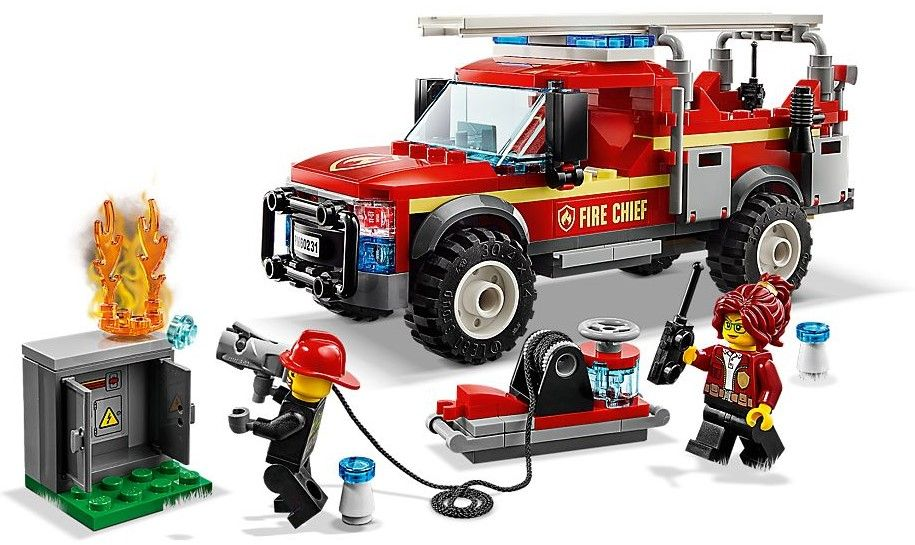 Конструктор Lego City - Fire Chief Response Truck (60231) - 2