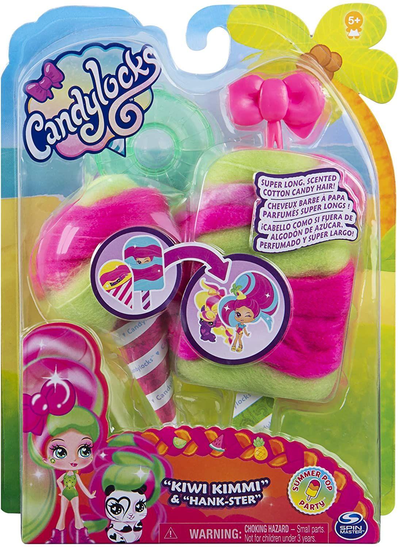 Мини кукла с ароматна коса Candylocks - С домашен любимец, асортимент - 10