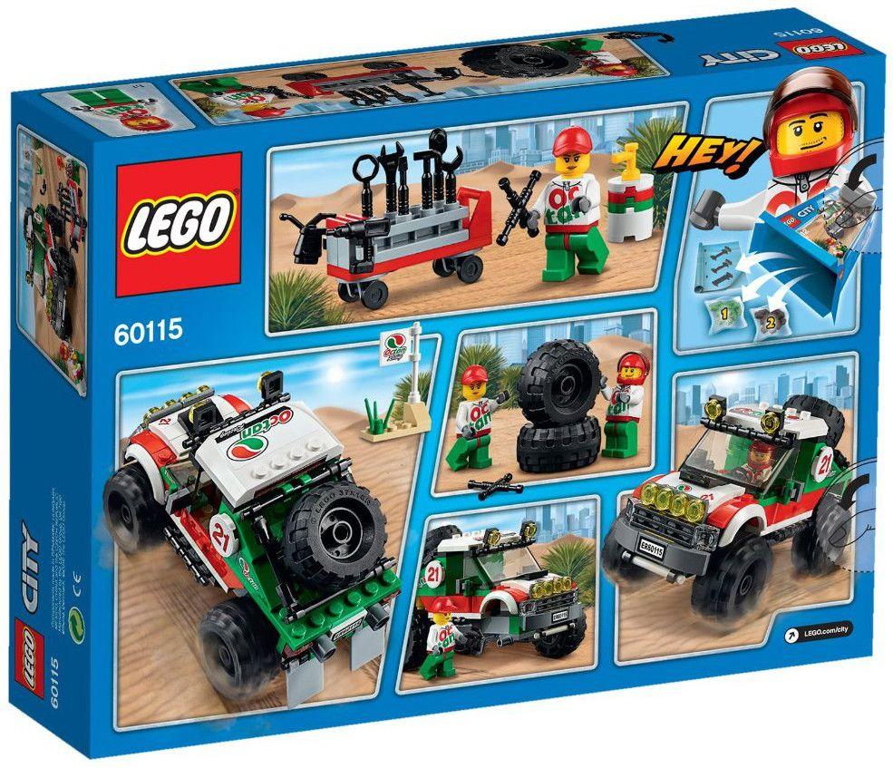 Конструктор Lego City - 4х4 Офф роудър (60115) - 3