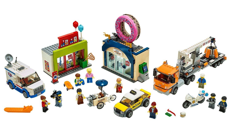 Конструктор Lego City - Donut shop opening (60233) - 2