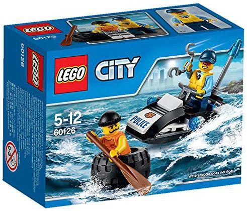 Конструктор Lego City - Бягство на автомобилна гума (60126) - 1
