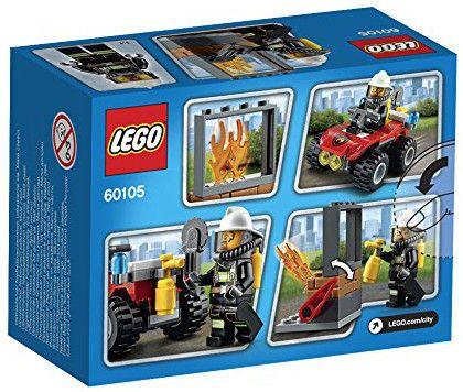 Конструктор Lego City - Пожарникарско АТВ (60105) - 3