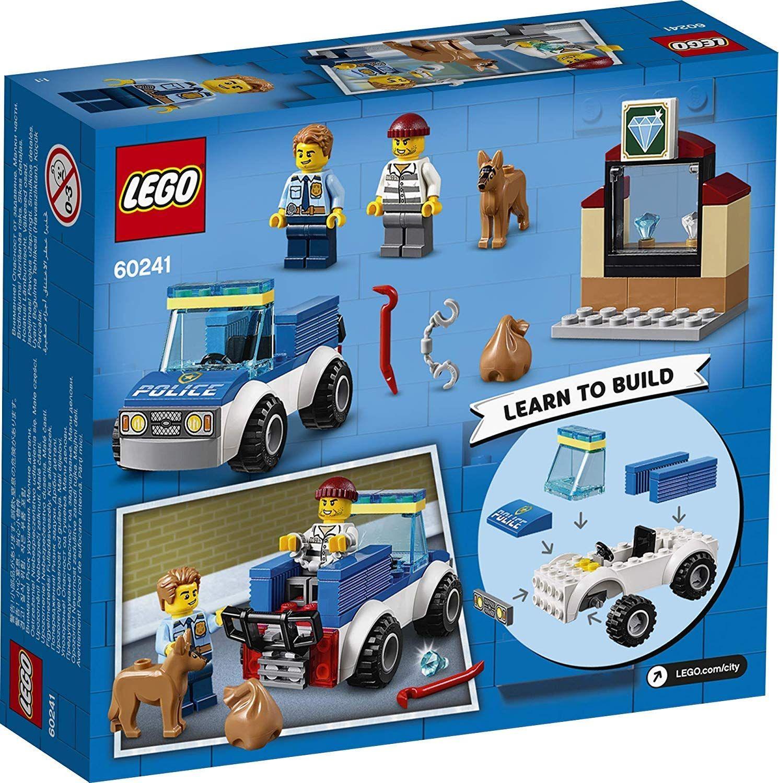 Конструктор Lego City Police - Полицейски отряд с кучета (60241) - 2