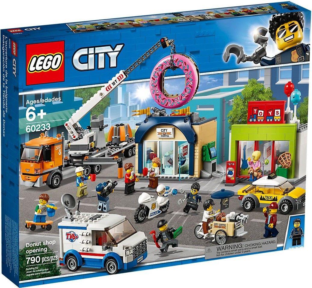 Конструктор Lego City - Donut shop opening (60233) - 1